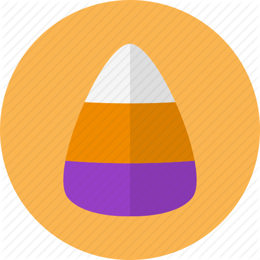 Candy, Corn, Cute, Halloween, Party Icon