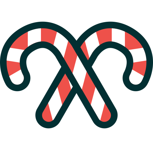 Candies, Candy Canes, Canes, Christmas, Sweets, Xmas Icon