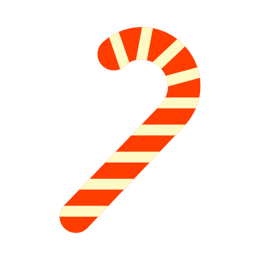 Candy Cane, Fill, Flat Icon With Png And Vector Format For Free