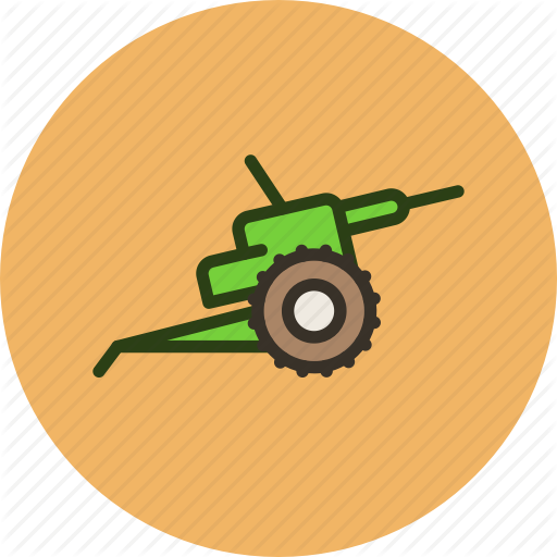 Cannon, Gun, Military, War Icon
