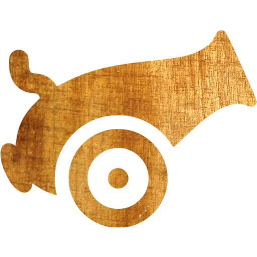 Light Wood Cannon Icon