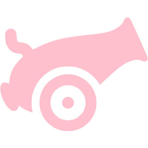 Pink Cannon Icon