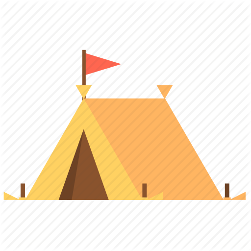 C Camping, Canopy, Tent, Travel, Travel Tent Icon