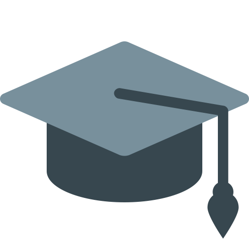 Graduation Cap Icon With Png And Vector Format For Free Unlimited