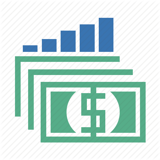 Capital, Cash, Currency, Dollars, Dough, Gains, Money Icon