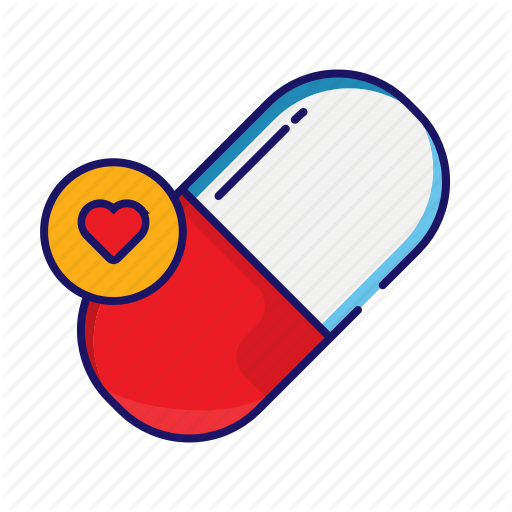 Capsule, Drugs, Medical, Medicine, Pills Icon