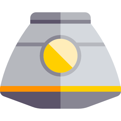Science, Vehicle, Transport, Automobile, Space Capsule Icon