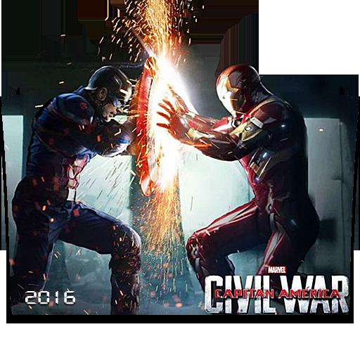 Captain America Folder Icons