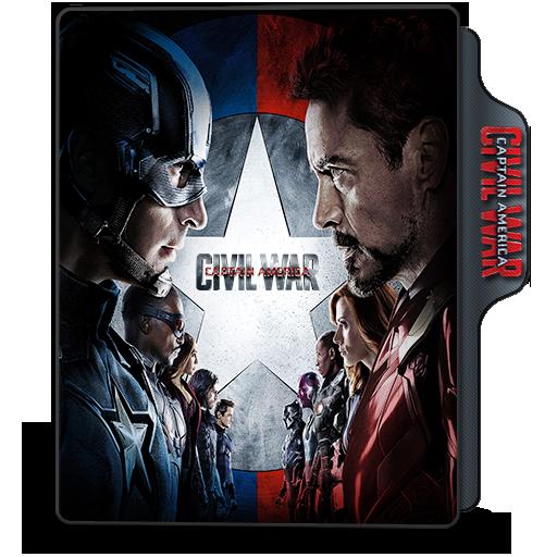 Folder Icon Captain America
