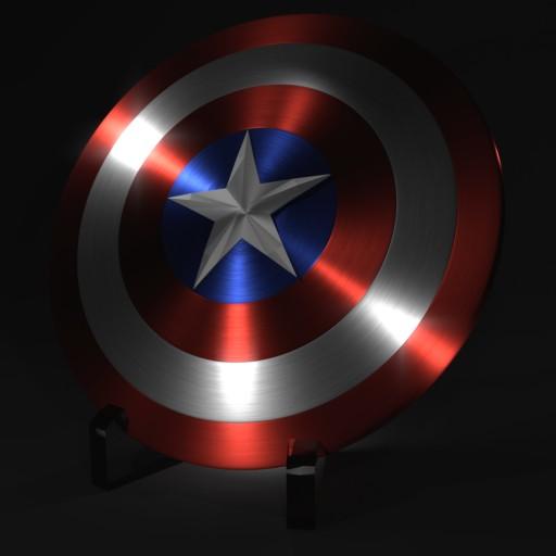 Captain America's Shield Blend Swap
