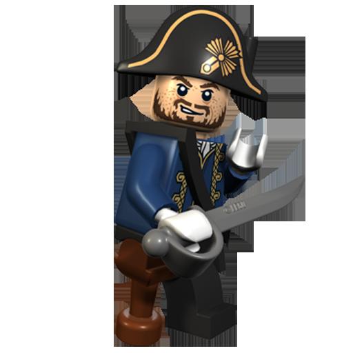 Barbosssa, Captain, Lego Icon