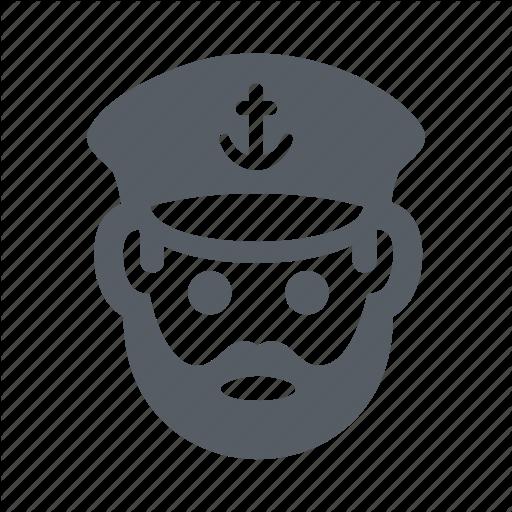 Captain, Marine, Nautical, People, Ship, Skipper Icon