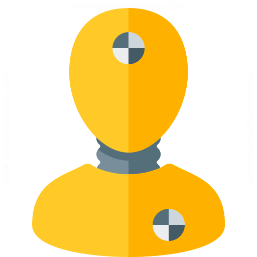 Iconexperience G Collection Crash Test Dummy Icon