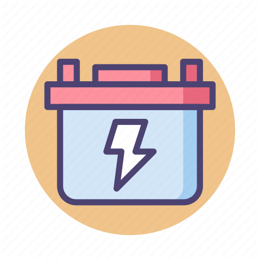 Accumulator, Battery, Car Battery Icon