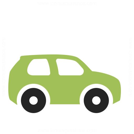 Car Compact Icon Iconexperience