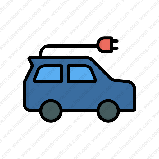 Download Electric Car Icon Inventicons
