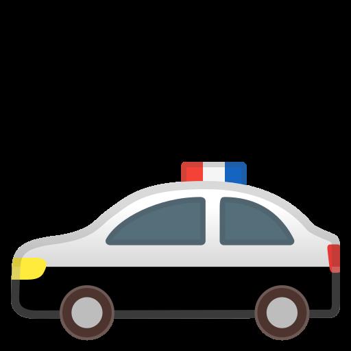 Police, Car Icon Free Of Noto Emoji Travel Places Icons