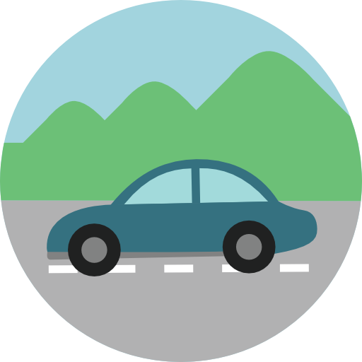 Vehicle, Automobile, Car Icon