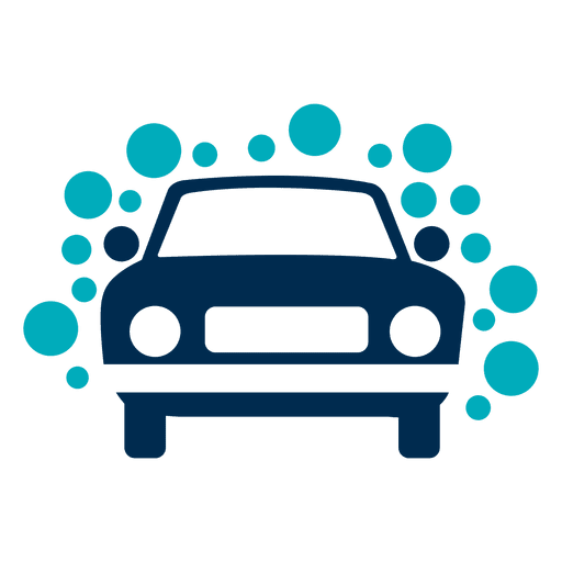 Car With Bubbles Icon