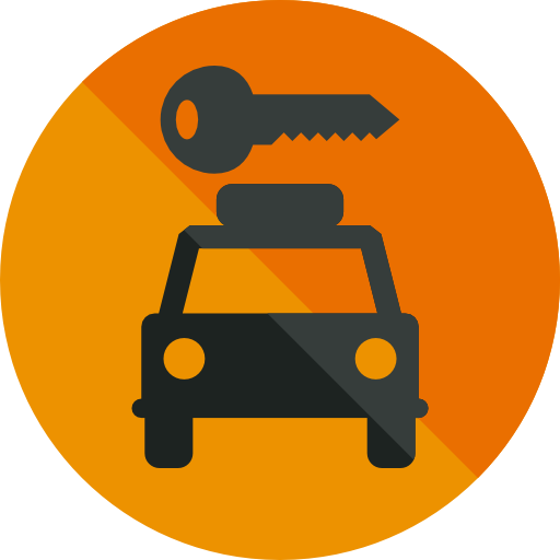 Rent A Car Icon