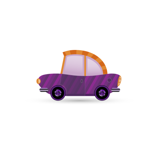 Purple Car Icon Free Icons Download
