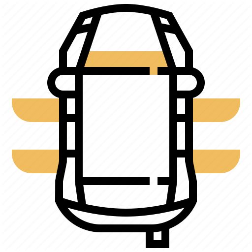 Car, Top, Transport, Vehicle, View Icon