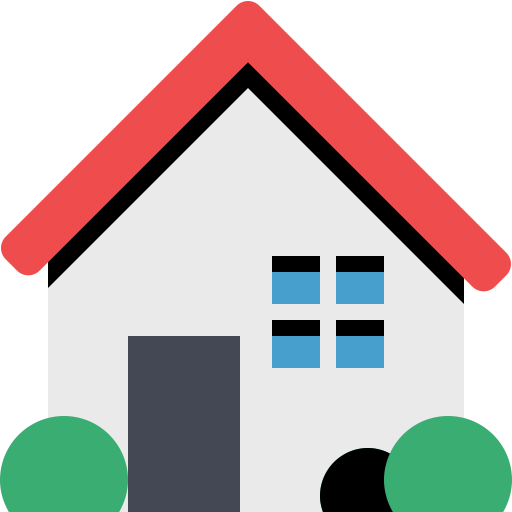 Top View Of The Green Car, Green, Home Icon With Png And Vector