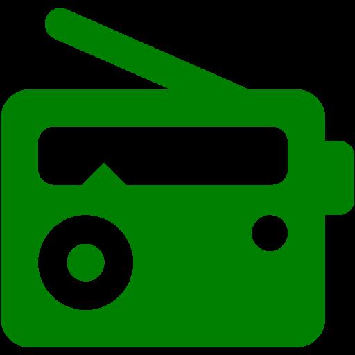 Green Radio Icon