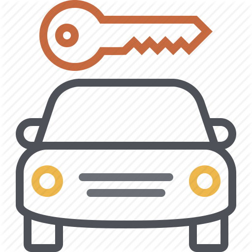 Car, Car Rental, Key, Rent, Share, Transportation, Vehicle Icon