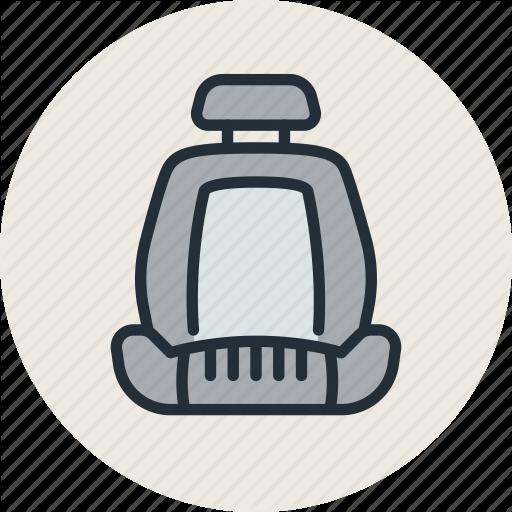 Auto, Car, Chair, Seat Icon