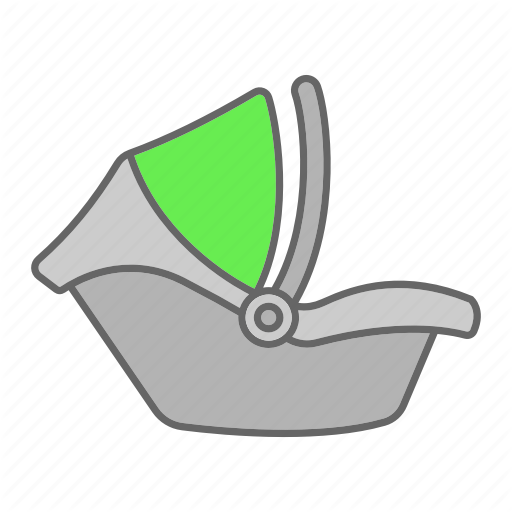 Baby, Car Seat, Carrier, Child, Infant, Safety, Seat Icon
