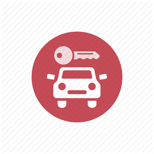 Auto, Car, Car Hire, Car Rent, Key, Service Icon