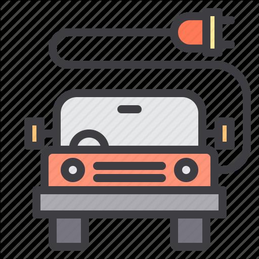 Car, Charging, Maintenance, Service Icon