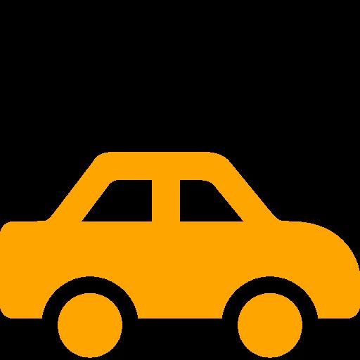 Orange Car Clipart Collection