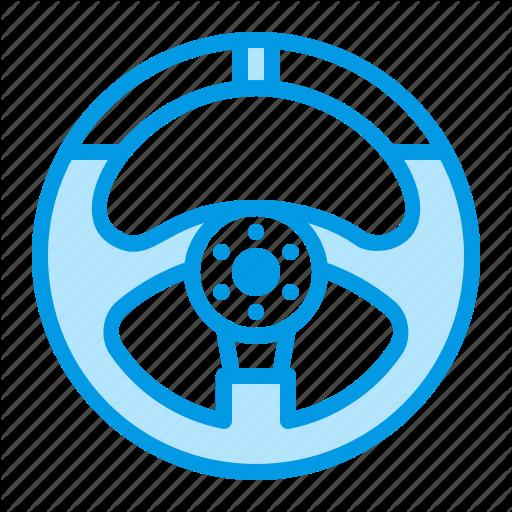 Car, Part, Steering, Wheel Icon