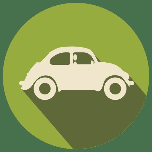 Retro Car Flat Icon