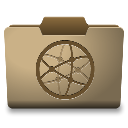 Cardboard Network Icon