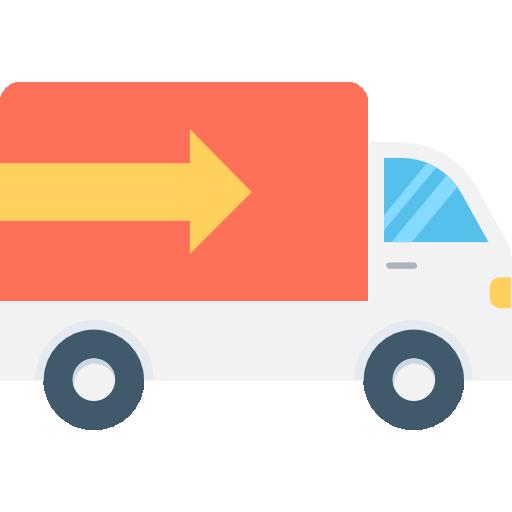 Cargo Truck Icon Transport Vectors Market