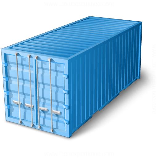 Iconexperience V Collection Cargo Container Icon