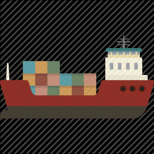 Cargo, Cargo Ship, Freight, Freighter, Ship, Shipping Icon