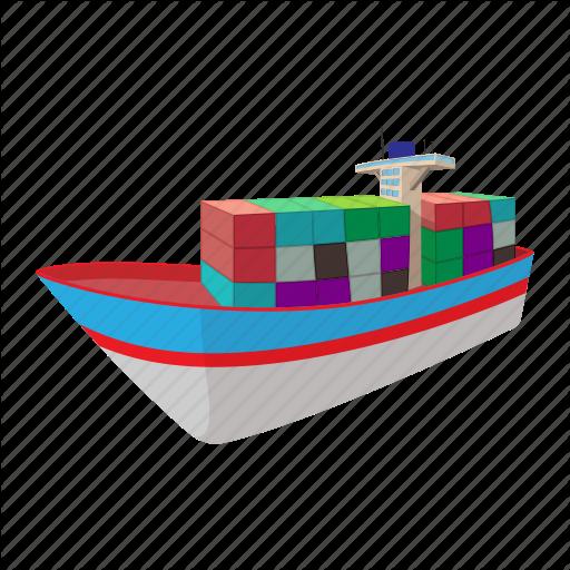 Cargo, Cartoon, Dry, Nautical, Ship, Shipping, Supertanker Icon
