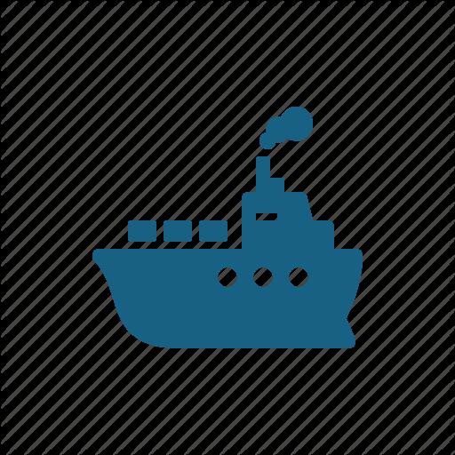 Cargo Ship, Freighter, Ship, Vessel Icon
