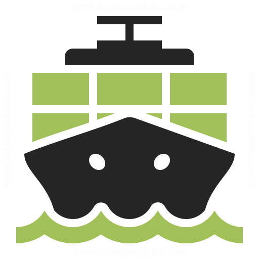 Containership Icon Iconexperience
