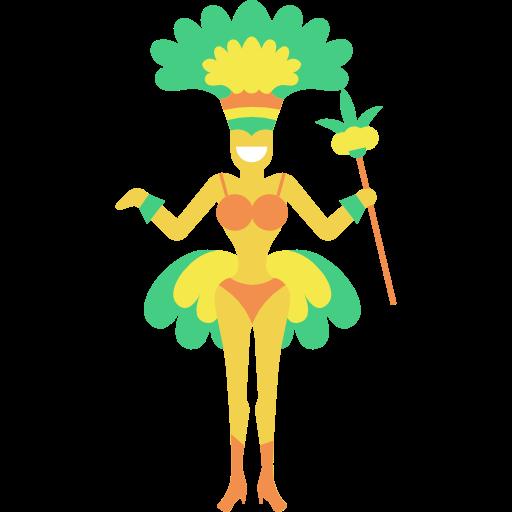 Brazil, Dancer, Carnival Icon