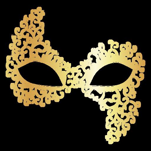 Colombina Carnival Mask Icon