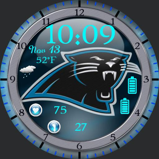 Carolina Panthers For G Watch R
