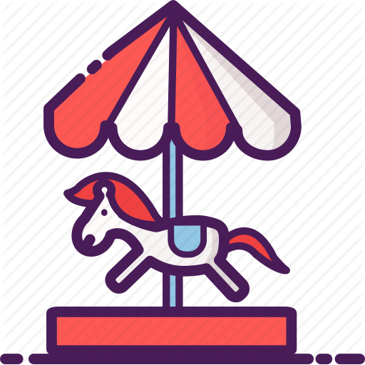Amusement, Carousel, Children, Gaming, Merry Go Round, Riding