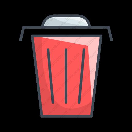 Download Trash,garbage Icon Inventicons