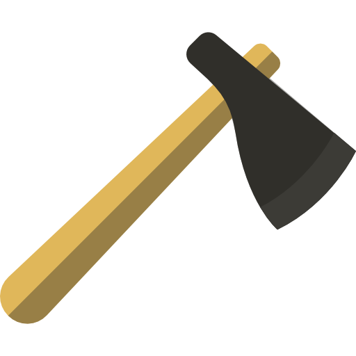 Carpenter, Construction, Wood Cutting, Tools And Utensils, Axe, Ax