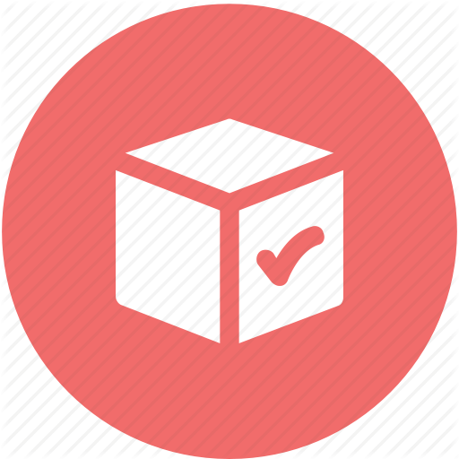 Carriage, Check Mark, Checkbox, Confirm Delivery, Delivery Box